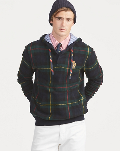 Tartan Hooded Jumper