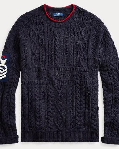 a2a219c915e Knit Cotton-Blend Sweater. Take 30% off. Polo Ralph Lauren