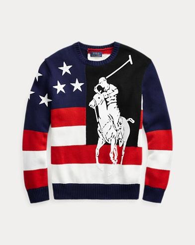 Big Pony Cotton Sweater