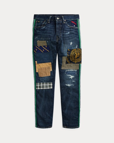 Sullivan Slim Distressed Jean