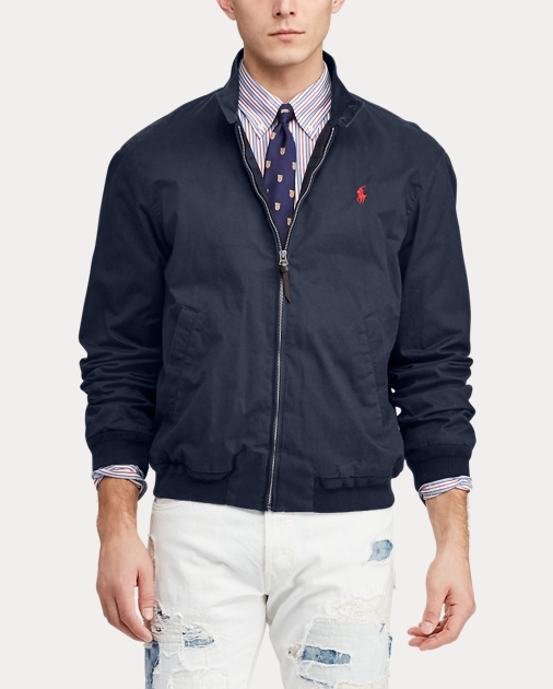 Ralph Twill Jacket Polo Lauren Cotton QrBdCxhts