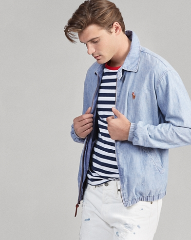 Coupe-vent Bayport chambray