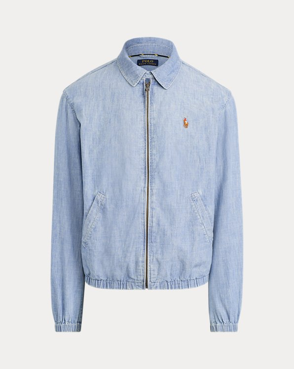 Giacca Bayport in chambray