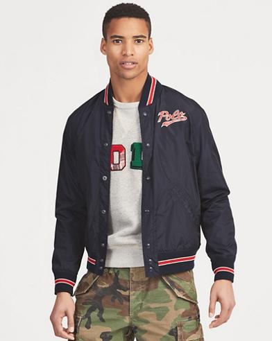 Polo Baseball Jacket