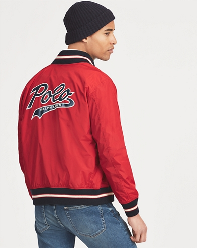 Polo Baseball Jacket