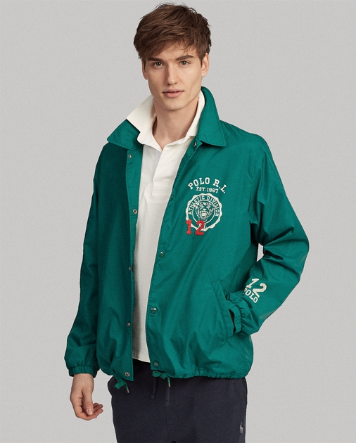 63ab0645 Polo Ralph Lauren Embroidered Coach Jacket 1