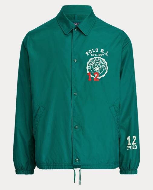 af1ea8782d Embroidered Coach Jacket