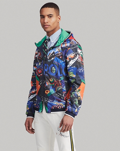 aeb26a6d65be Water-Repellent Graphic Jacket