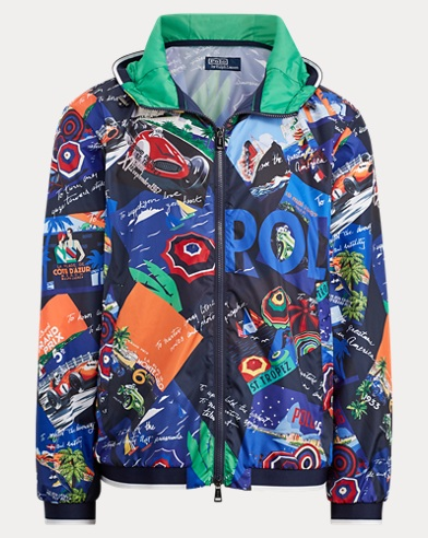 15ae7bc199383 Water-Repellent Graphic Jacket. Take ...