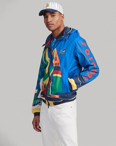 5d4f43b42e7 Water-Repellent Graphic Jacket. Polo Ralph Lauren
