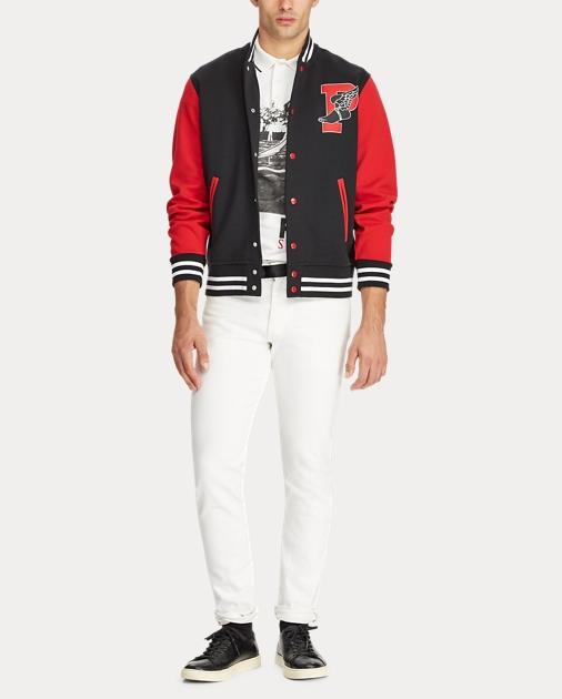 a10654c4f6663 Polo Ralph Lauren P-Wing Baseball Jacket 3
