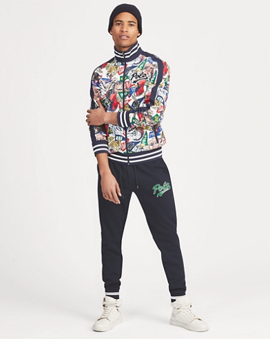 Graphic Track Jacket