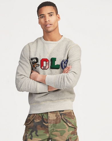Polo Fleece Graphic Sweatshirt