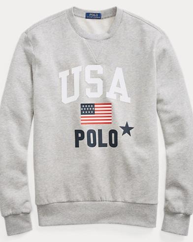 ac4940d39 Fleece Graphic Sweatshirt. Polo Ralph Lauren