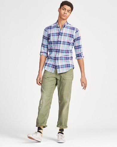 Camicia a righe Classic-Fit