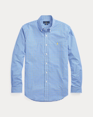Slim Fit Gingham Shirt
