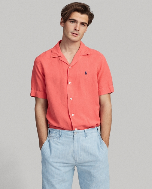 Polo Ralph Lauren Classic Fit Linen-Blend Shirt 1