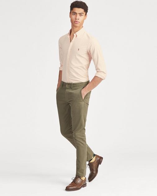 c0f7942e7f Polo Ralph Lauren Slim Fit Striped Oxford Shirt 1