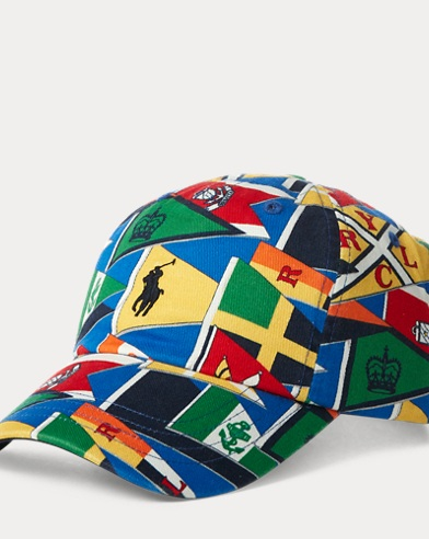 Nautical Flag Cotton Cap