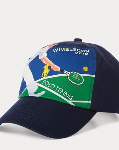 Cappellino Wimbledon in twill di cotone