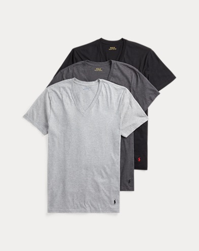 Classic Wicking V-Neck 3-Pack