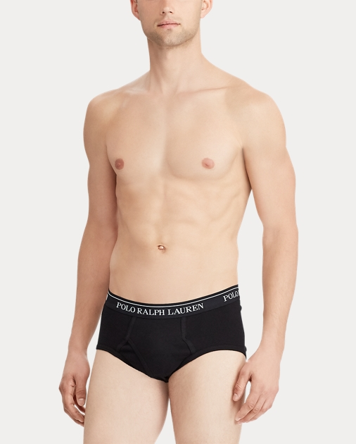 Polo Ralph Lauren Mens Classic Fit w//Wicking 4-Pack Briefs