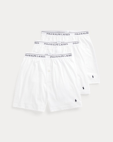 f0c1b08e Wicking Knit Boxer 3-Pack. Polo Ralph Lauren. Wicking Knit Boxer ...