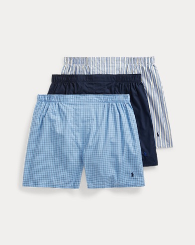 c5e433e6 Classic Fit Boxer 3-Pack. Polo Ralph Lauren. Classic Fit Boxer 3-Pack