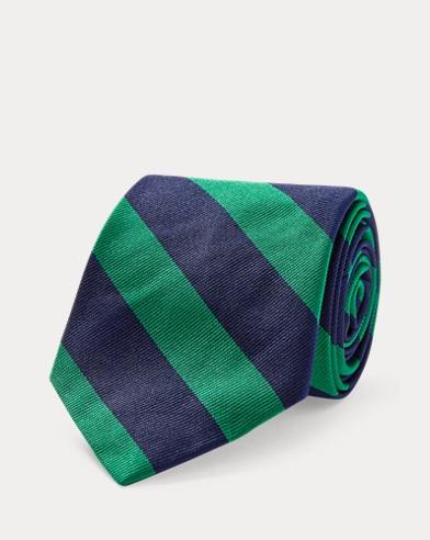 Silk Repp Narrow Club Tie