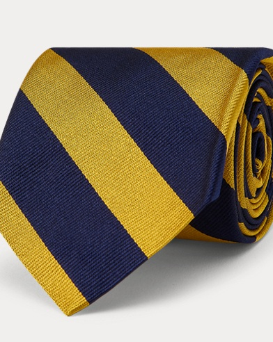 Silk Repp Narrow Club Tie