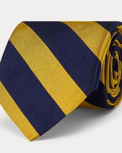 Cravate club étroite reps de soie