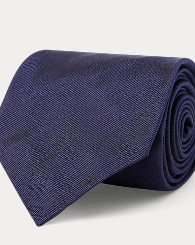 Corbata estrecha de seda con Polo Bear