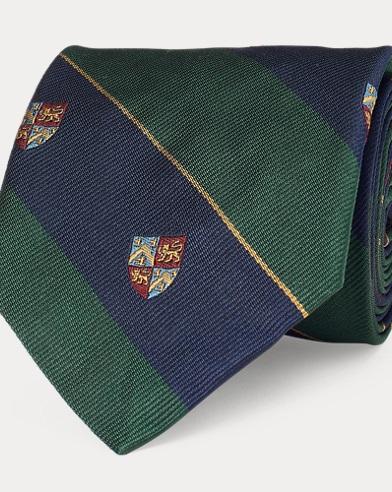 Silk Narrow Club Tie