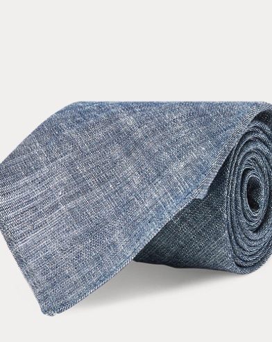 Cotton Chambray Tie