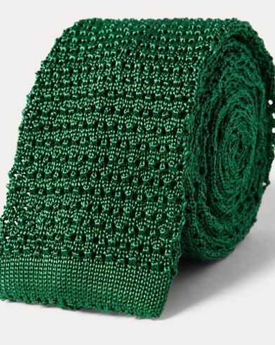 Knit Silk Narrow Tie