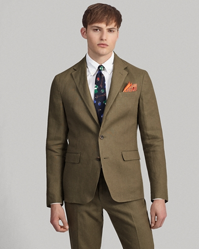 Polo Soft Linen Suit Jacket
