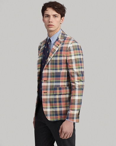 Polo Soft Madras Sport Coat