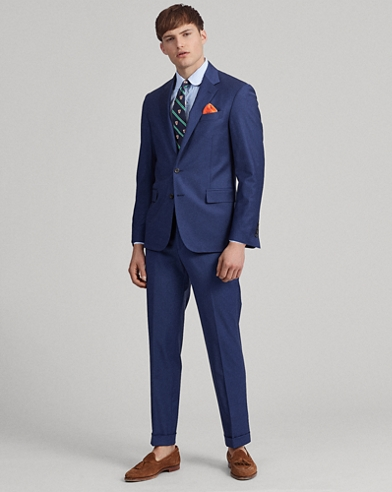 Polo Wool-Blend Suit