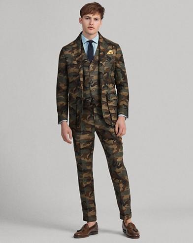Polo Soft Camo Suit Jacket