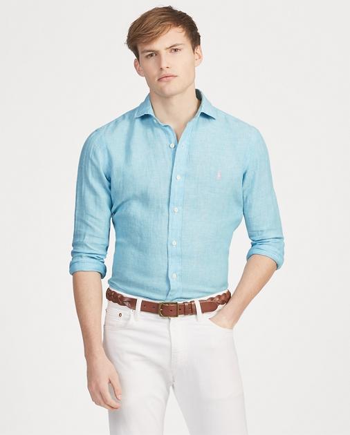 a89ff3bc Polo Ralph Lauren Classic Fit Linen Shirt 1