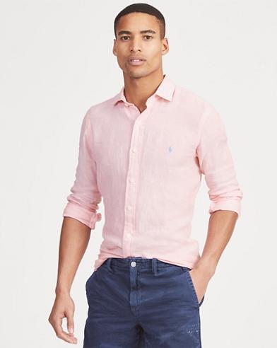 Classic Fit Linen Shirt