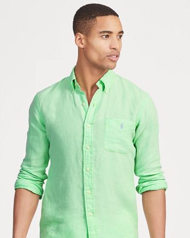 Classic-Fit Leinenhemd