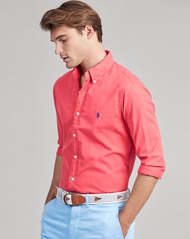 Slim Fit Twill Shirt
