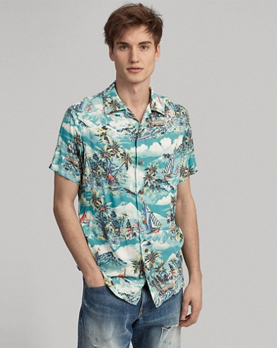 a2945d87fa Classic Fit Tropical Shirt. Take 30% off. Polo Ralph Lauren
