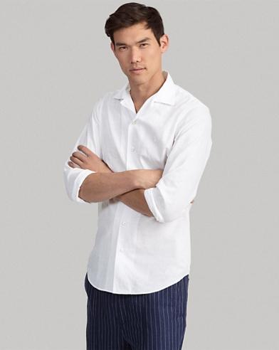 Classic Fit Cotton-Linen Shirt