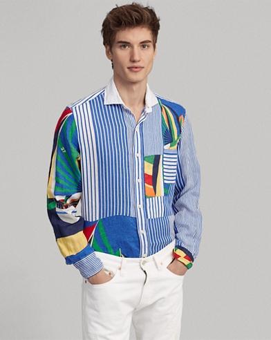 Classic Fit Linen Fun Shirt