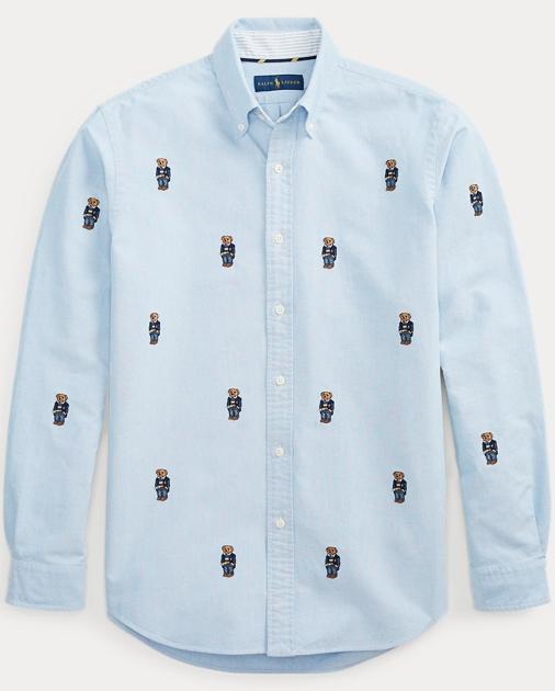 1bd1e7d5541b Big   Tall Classic Fit Bear Oxford Shirt 1