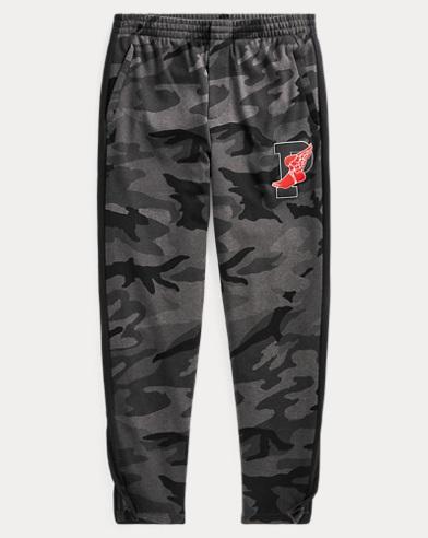 Pantalon en interlock camouflage