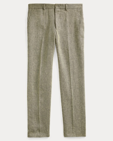 Polo Linen Suit Trouser