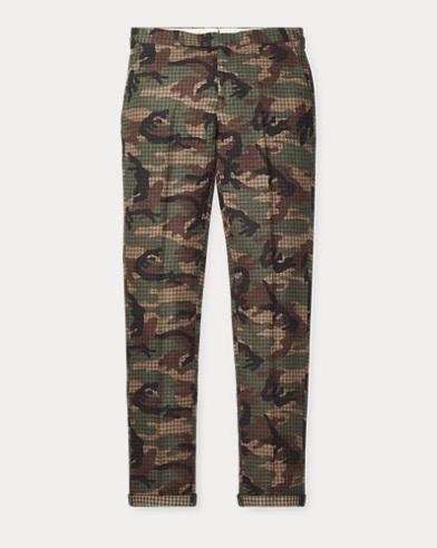 Polo Camo Tweed Suit Trouser